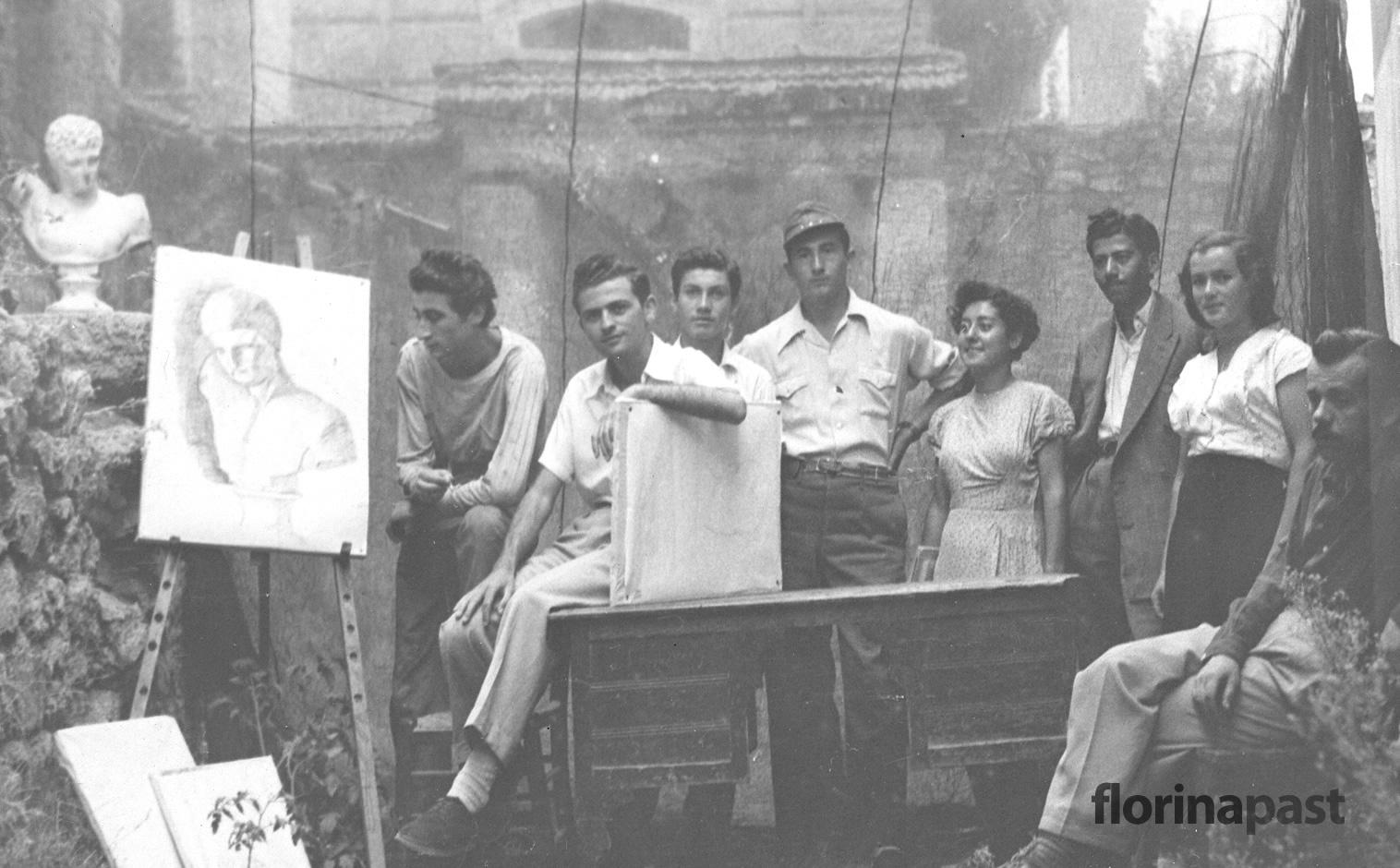 omilos kalwn texnwn aristoteli 1953 august